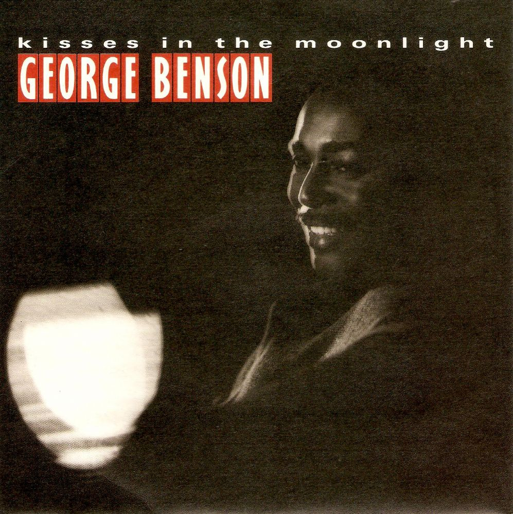 GEORGE BENSON Kisses In The Moonlight Vinyl Record 7 Inch Warner Bros. 1986